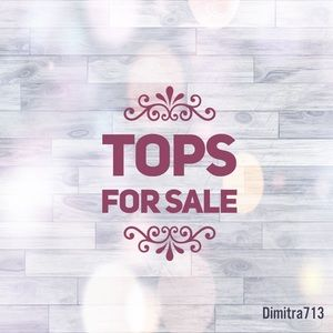 Tops - 💠 Variety of tops for sale 💠